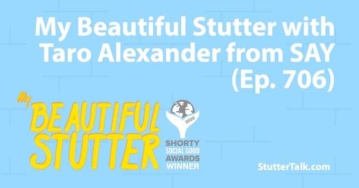 StutterTalk, SAY, stuttering